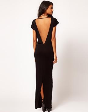ASOS | ASOS Maxi Dress with Low Back at ASOS