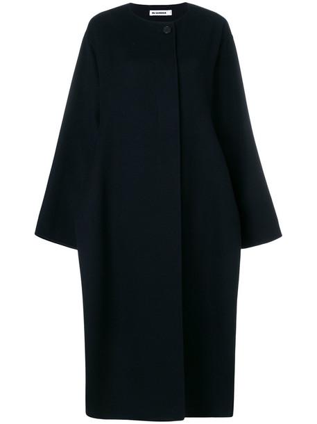 Jil Sander coat women black
