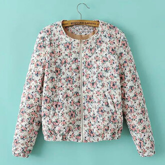 jacket vintage jackets roses print floral print jacket women jacket crop jacket cool