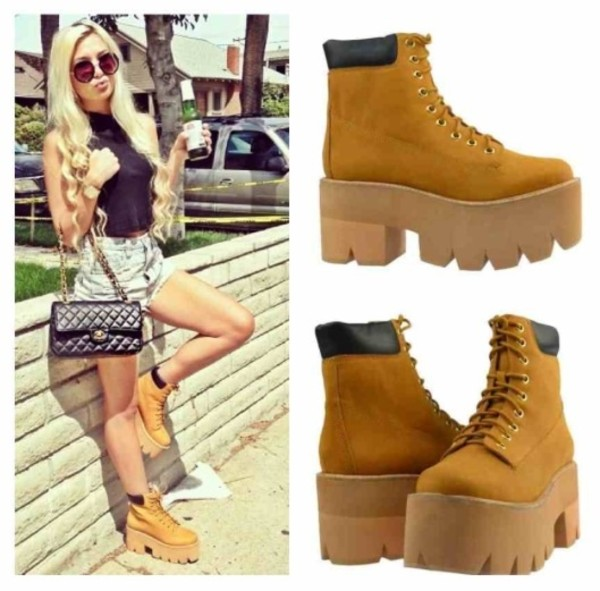 shoes jeffrey campbell tan boots