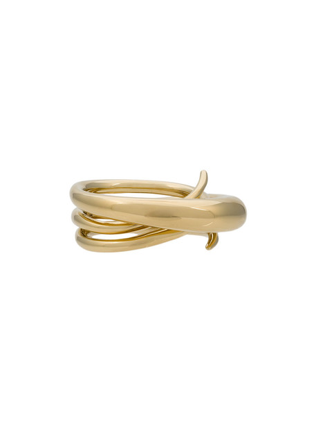 Charlotte Chesnais women ring gold silver grey metallic jewels