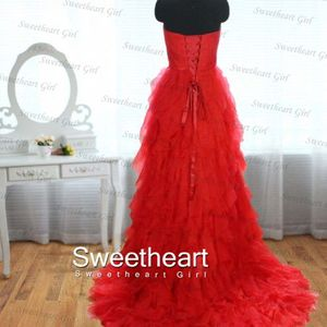 Sweetheart Girl | Amazing Red Sweetheart Floor-Length Prom Dress | Online Store Powered by Storenvy