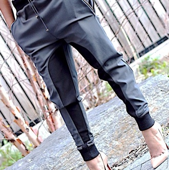 shoes leather black leather pants leather pants pants beige high heels beige shoes heels