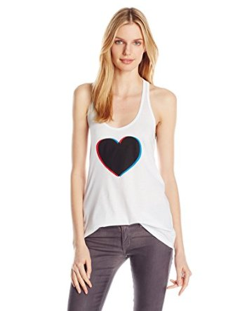 Rebecca minkoff women's heart tank top at amazon women's clothing store: