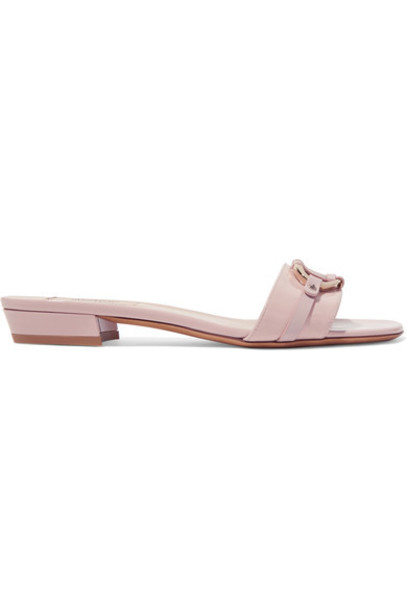 Valentino pastel embellished leather pink pastel pink shoes