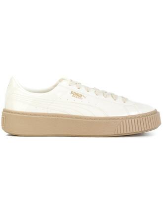 women sneakers platform sneakers white neoprene shoes