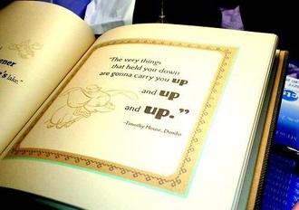 disney quote on it jewels disney book book