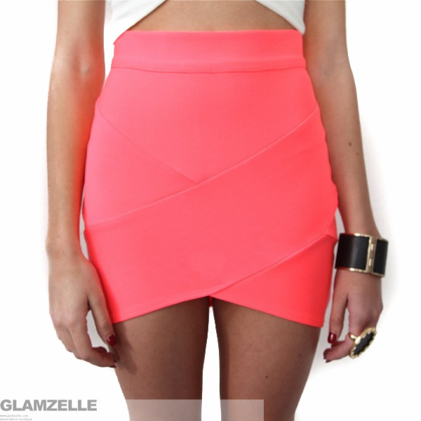"Chic ""hot mamacita"" bandage skirt (5 colors available) – glamzelle"