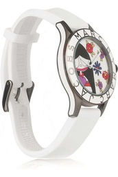 jewels,watch,white watch,marc by marc jacobs,marc jacobs