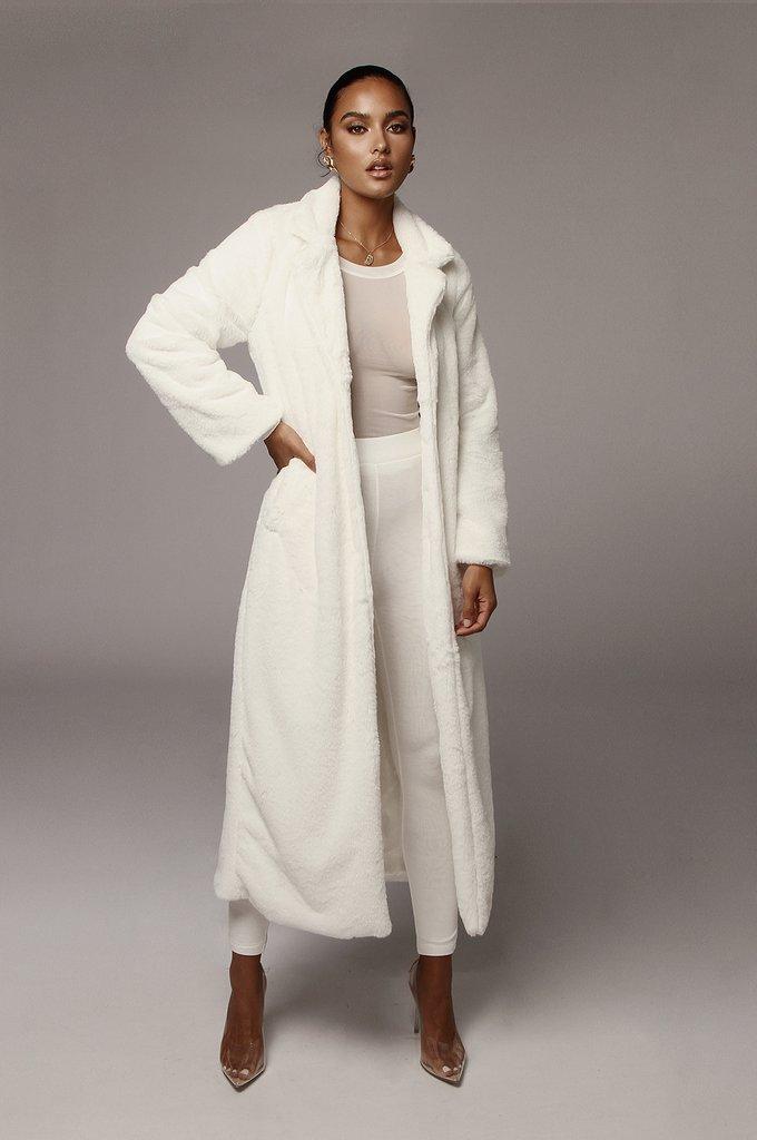 Ivory Oana Soft Long Coat