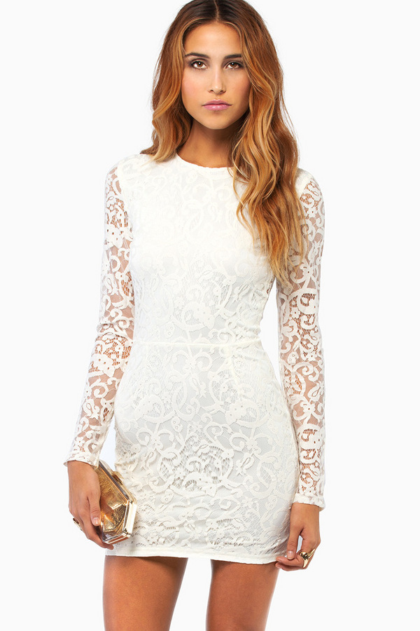 b94a80d8cc0 My Lace Or Yours Bodycon Dress - Tobi