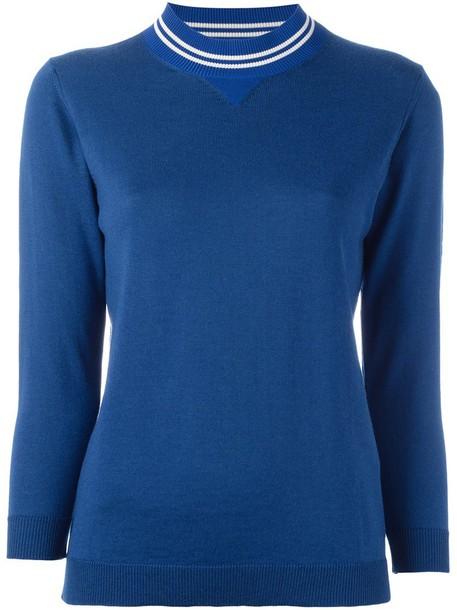 jumper women blue sweater