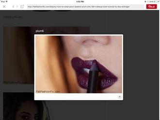 make-up lip liner purple lipstick purple burgundy liner mac cosmetics sephora nars cosmetics lips lipstick nyxcosmetics