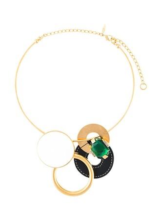 statement necklace statement necklace metallic jewels