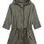 Trendy Women Casual Long Sleeve Drawstring Pocket Patchwork Hooded Jacket Online - NewChic