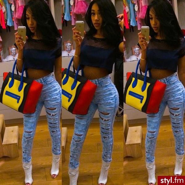 jeans bag
