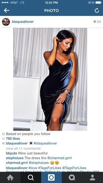 dress velvet dress gown beautiful ball gowns blue navy
