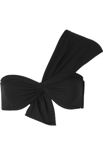 Marysia bikini bikini top black swimwear