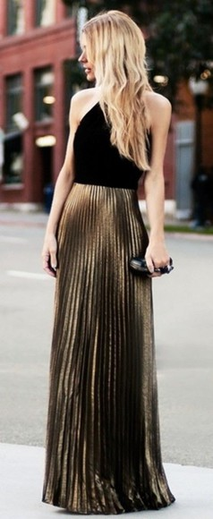 formal dress prom dress formal black and gold black and gold dress