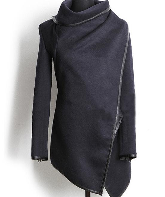 Cultivate one's temperament cloth coat trench coat