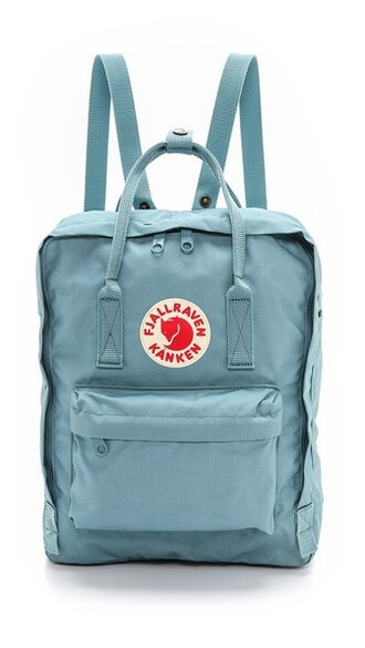 backpack blue sky blue bag