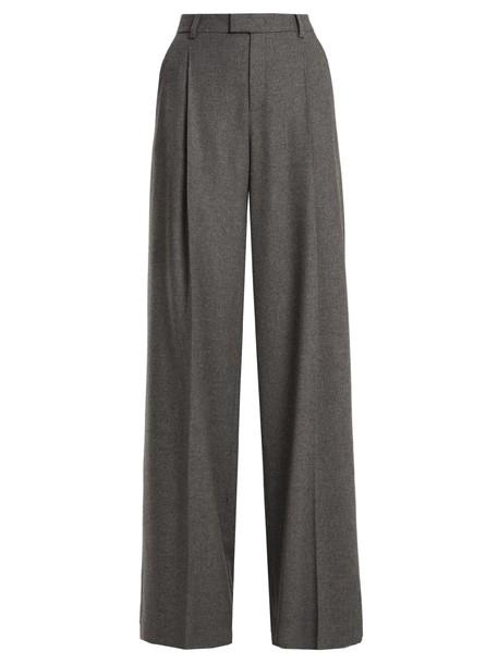REDValentino high wool light grey pants