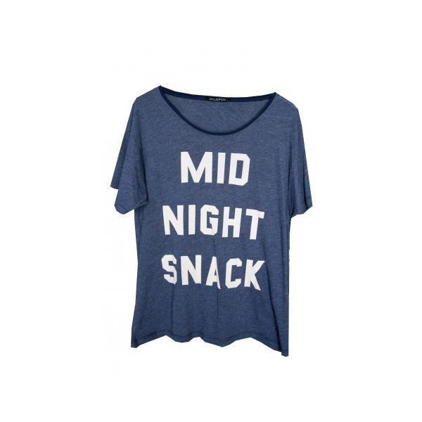 Wildfox Midnight Snack Tee Shirt :: Lindsay Lohan :: Shop by... - Polyvore