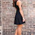 Bow Tie Affair Dress - Black on Wanelo