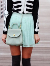 mint,mint blue,halloween,thanksgiving outfit,sweater,socks