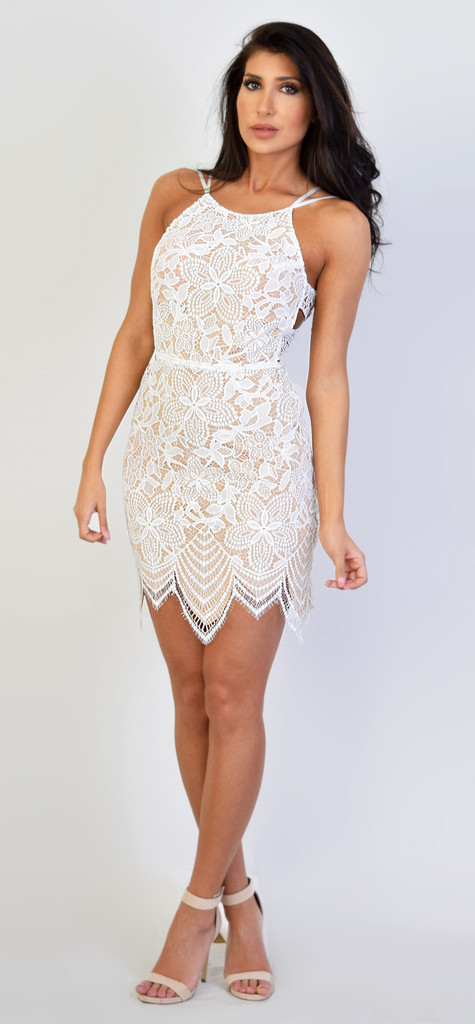 be5ad8453e For Love and Lemons - Guava Mini Dress
