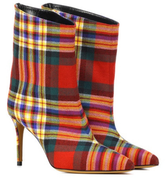 Alexandre Vauthier Alex checked boots