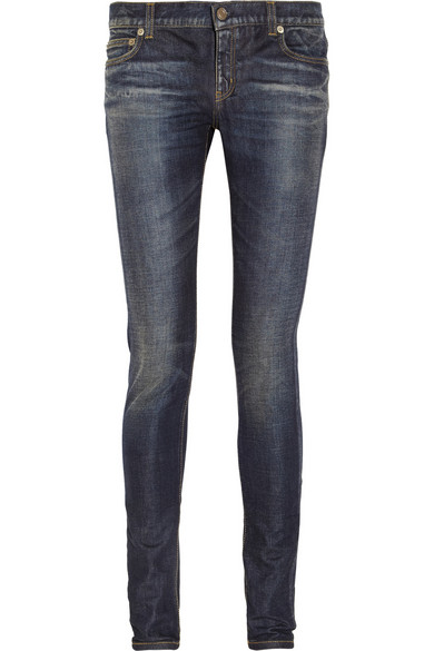 Saint Laurent | Low-rise skinny jeans | NET-A-PORTER.COM