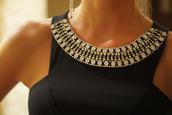 dress,black dress,black,smart,elegant,silver,out,top,black top,short top,crop tops,fashion,gold