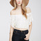 Floral lace off-the-shoulder top | forever 21 canada