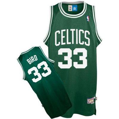 adidas Boston Celtics Larry Bird Youth Soul Swingman Road Jersey - NBA Store