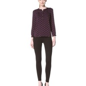 blouse,purple shirt worn by gwen stacy in the amazing spider man 2