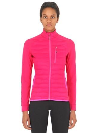 jacket down jacket pink