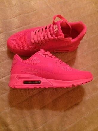 shoes nike sneakers air max neon
