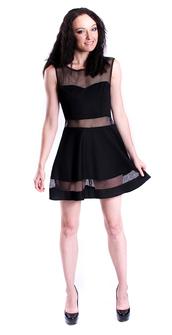 dress,little black dress,mesh,mesh dress,black dress,black,skater dress,skater skirt,mini dress,rochelle carino