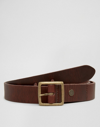 belt leather brown