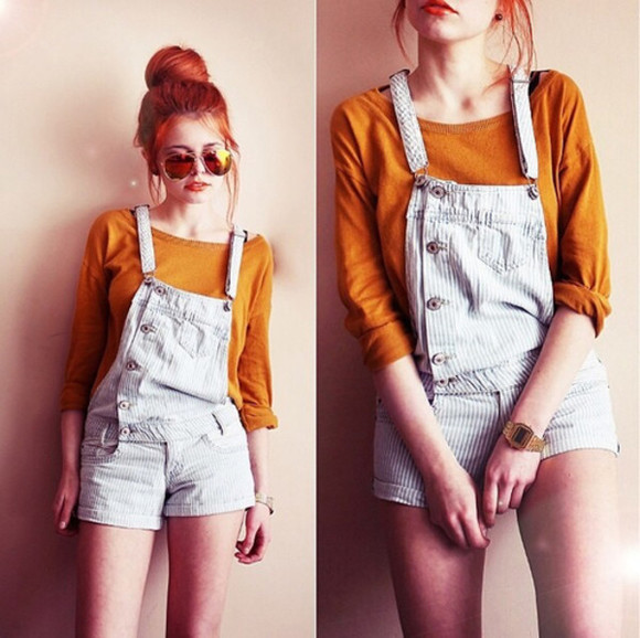 overalls denim overalls high waisted short denim pants