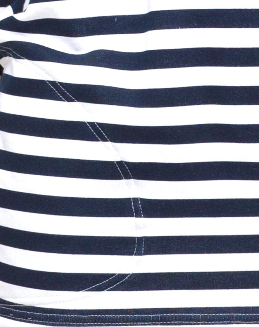 Buy Motel Cocoon Oversized Dress in Navy Breton Stripe at Motel Rocks