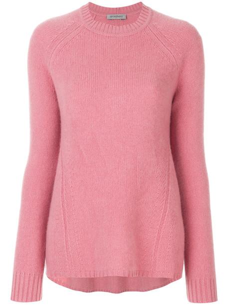 Sportmax sweater women purple pink