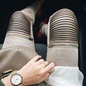 leggings,maniere de voir,suede,zip,pants,leather,zips,zipped