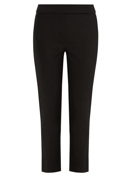 Osman cropped wool black pants