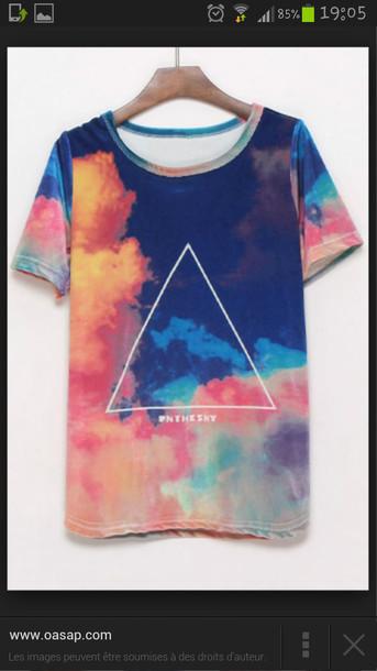 t-shirt multicolor