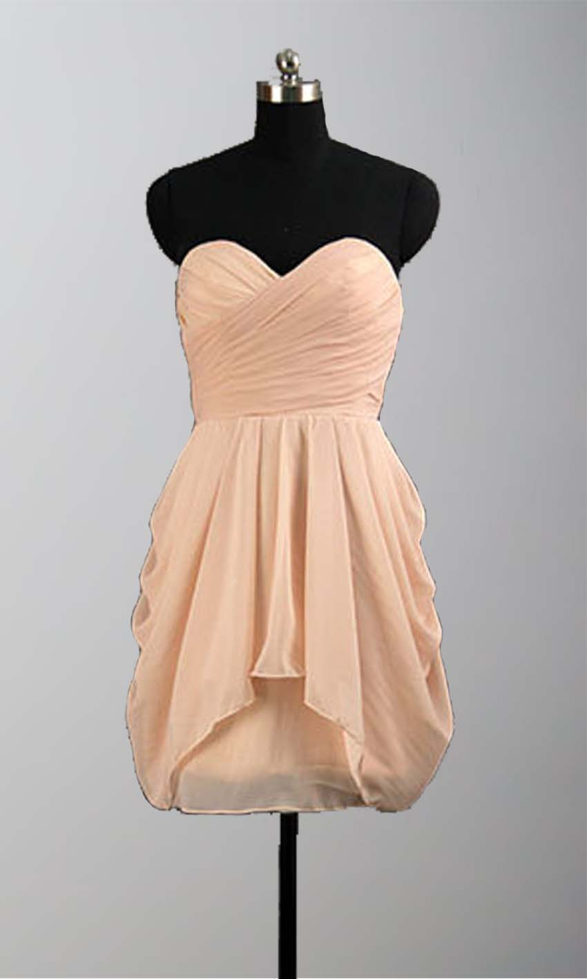 Peach Ruching High Low Mini Bridesmaid Dresses KSP295 [KSP295] - £78.00 : Cheap Prom Dresses Uk, Bridesmaid Dresses, 2014 Prom & Evening Dresses, Look for cheap elegant prom dresses 2014, cocktail gowns, or dresses for special occasions? kissprom.co.uk offers various bridesmaid dresses, evening dress, free shipping to UK etc.