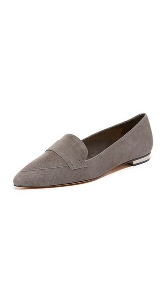 flats grey neutral shoes