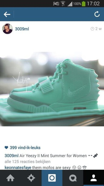 shoes yeezy air yeezy 2 mint 300ml