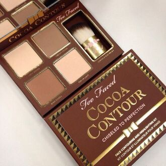 make-up cocoa contour contouring makeup palette eye makeup party make up make up acessory face makeup natural makeup look brown pretty girl girly stylish style cute